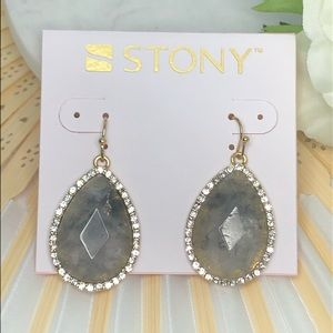 Gray Earrings